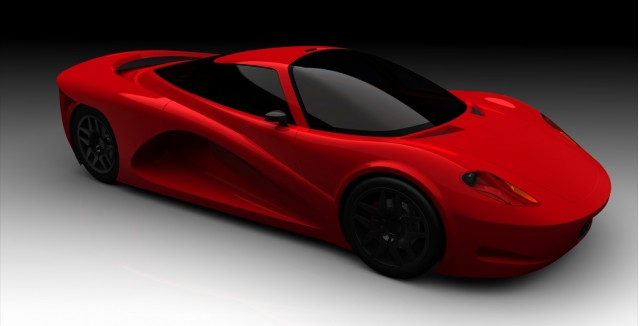 Velozzi Supercar, to be fitted with Capstone C65 microturbine, Feb 2010
