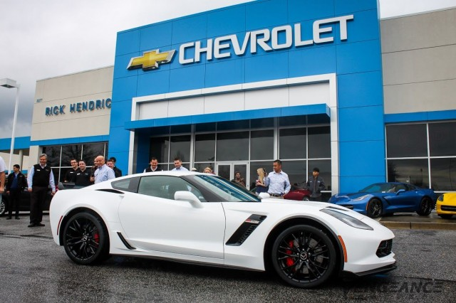 Vengeance Racing 2015 Chevrolet Corvette Z06 at delivery