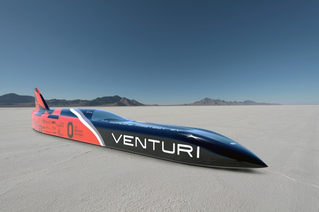 Land Speed Record For Electric Car