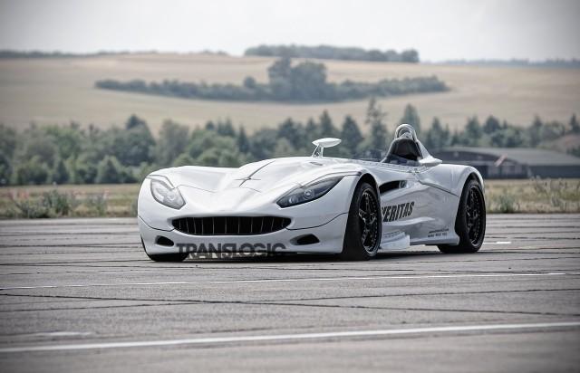 Veritas RSIII Roadster plug-in hybrid. Photo by Translogic.