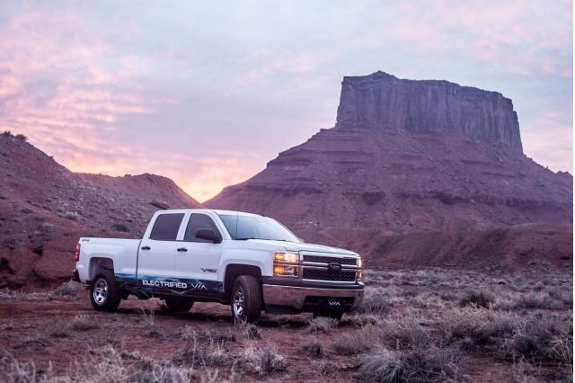 Via Motors extended-range electric pickup truck