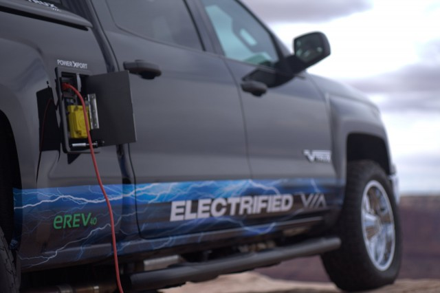 Via Motors extended-range electric pickup truck