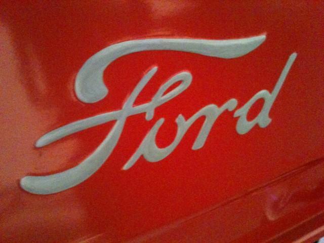 vintage Ford badge
