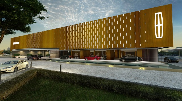 Vision for Lincoln dealership in China