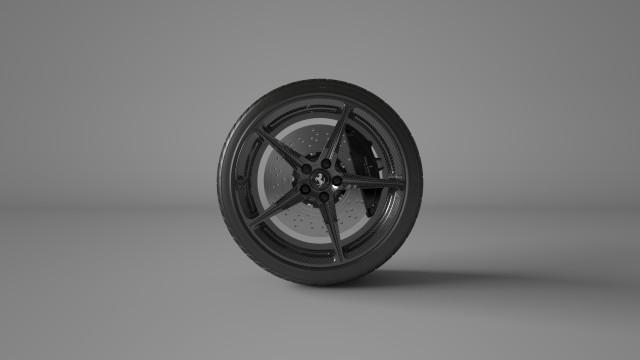 Vitesse-AuDessus Ferrari 458 Wheel