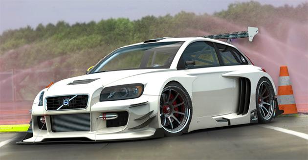 Volvo c30 racer