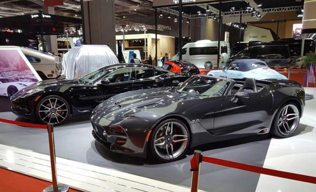 VLF Force 1 V10 Roadster, 2017 Shanghai auto show