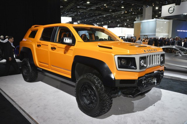 Vlf X Series 2017 Detroit Auto Show