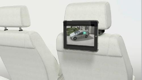 Vogel iPad car mounting kit