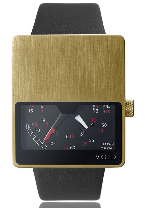 VOID Gold V02 Retrograde watch