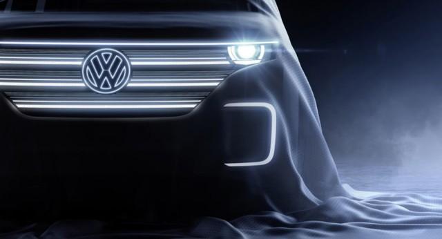 Volkswagen 2016 CES concept teaser