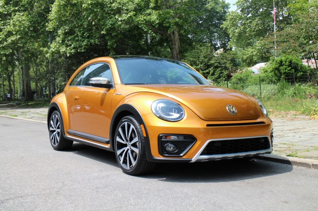 Volkswagen Beetle Dune Hybrid concept, New York City, May 2015