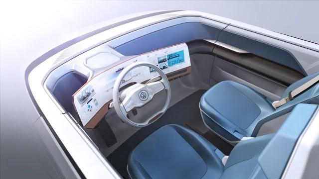 Volkswagen Budd E Concept 373 Mile All Electric Van