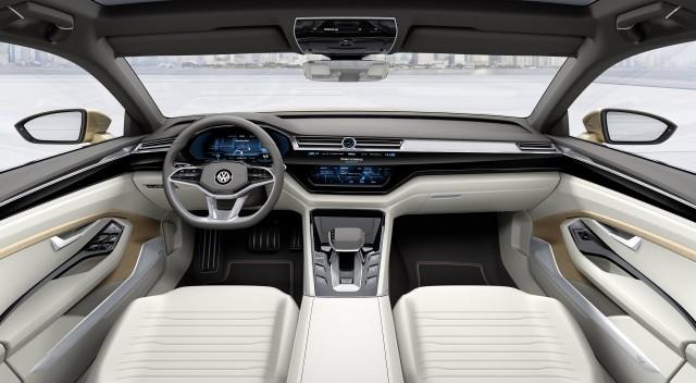 Volkswagen C Coupe GTE concept, 2015 Shanghai Auto Show