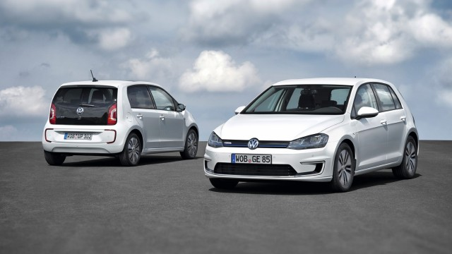 Volkswagen E Golf E Up Electric Cars Set For Frankfurt Debut