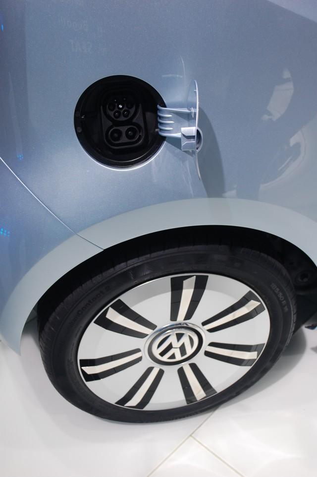 Volkswagen e-up! live photos, 2011 Frankfurt Auto Show