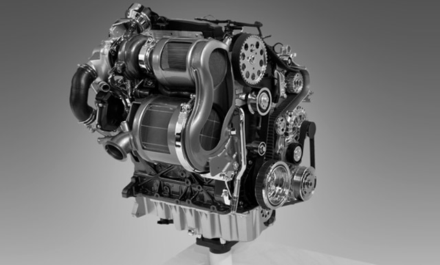 Volkswagen turbo diesel engine