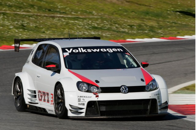 Volswagen Golf24 race car
