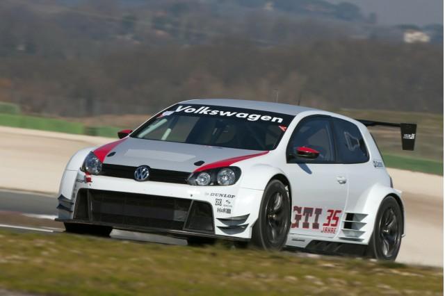Volswagen Golf24 race car