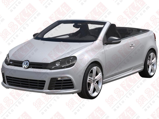 Volkswagen Golf R Cabrio patent photos