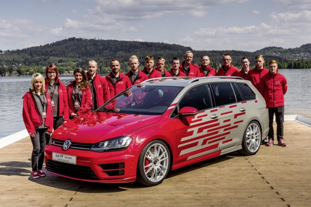 Vw Trainees Unveil Gti Golf R Variant Concepts At W 246 Rthersee
