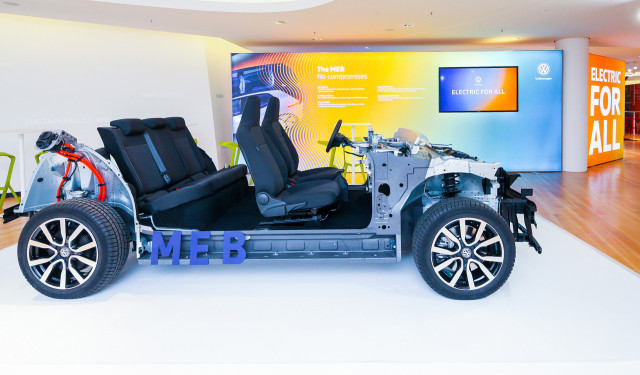 Volkswagen Group MEB modular electric car platform