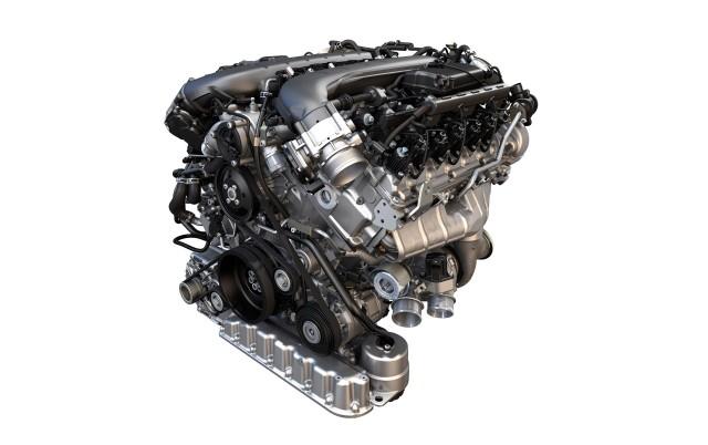 Volkswagen Group's new twin-turbocharged 6.0-liter W-12 gasoline engine