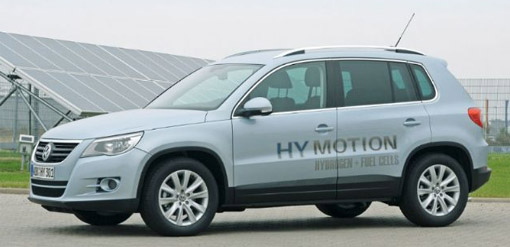 Volkswagen HyMotion fuel-cell Tiguan