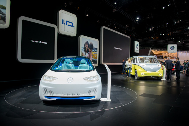 Volkwagen Id Electric Cars Need Names But Do These Two Work