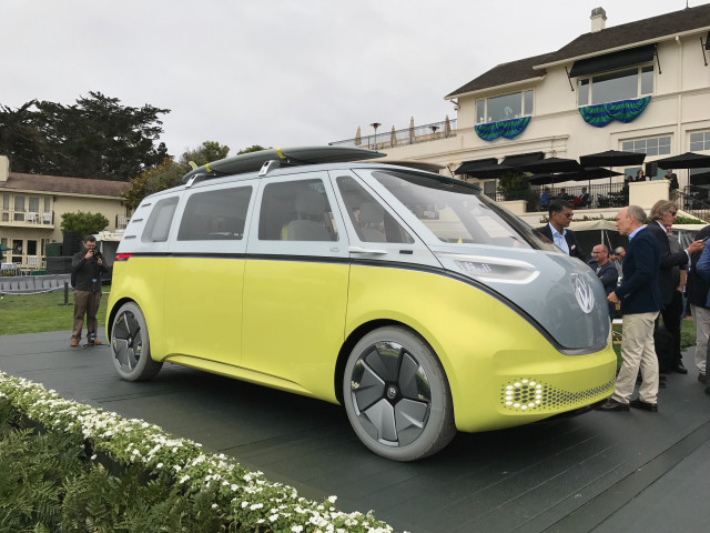 Volkswagen ID Buzz at Pebble