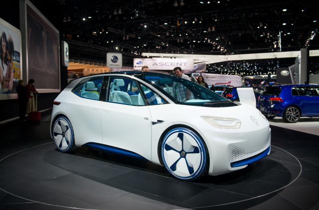 Volkswagen Id Concept 2017 Los Angeles Auto Show