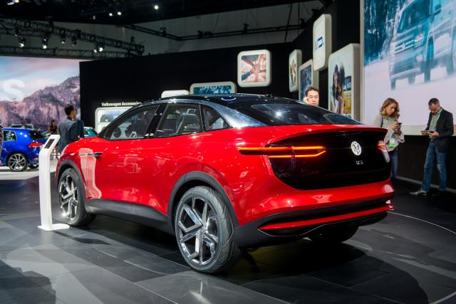 Volkswagen ID Crozz concept, 2017 Los Angeles auto show
