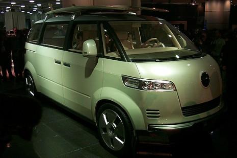 Volkswagen Microbus Concept, 2001 Detroit Auto Show