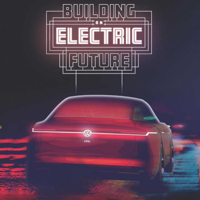 Volkswagen New Electric Future exhibit and ID concept teaser for LA 2019