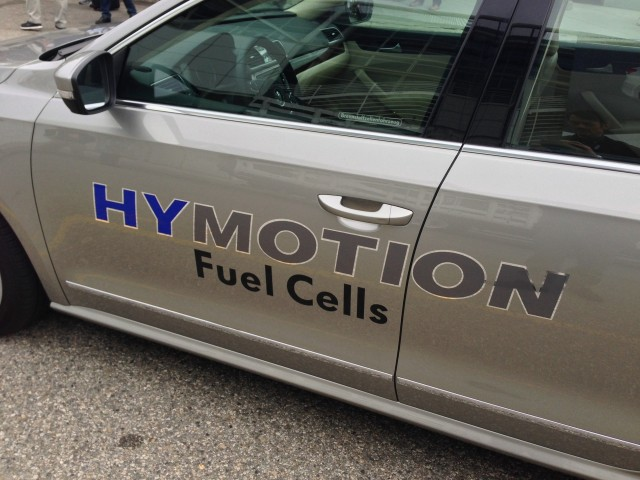 Volkswagen Passat HyMotion hydrogen fuel cell prototype - Los Angeles, November 2014