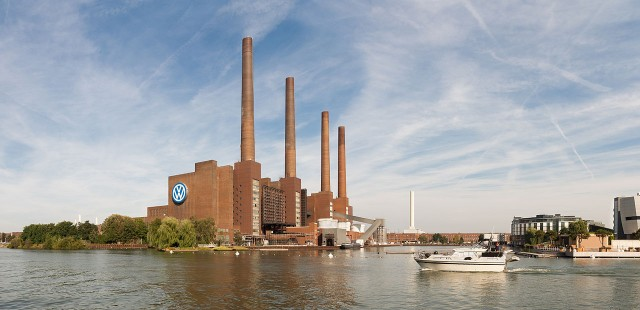 Volkswagen Plant, Wolfsburg, Germany (photo by Richard Bartz)