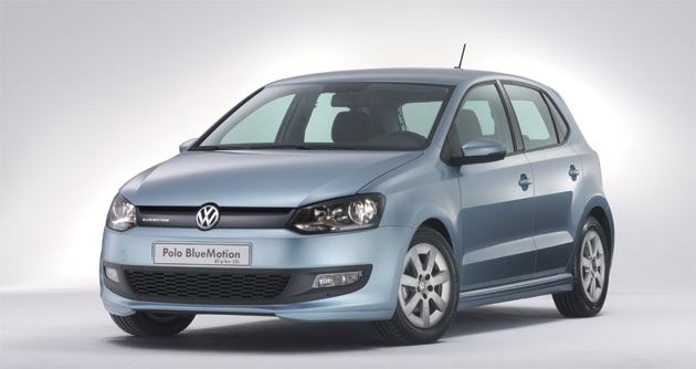 VW's Stefan Jacoby says fossil fuel cars, like this Polo BlueMotion, are the real near-future solution