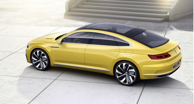 Volkswagen Sport Coupe Gte Concept 2017 Geneva Motor Show
