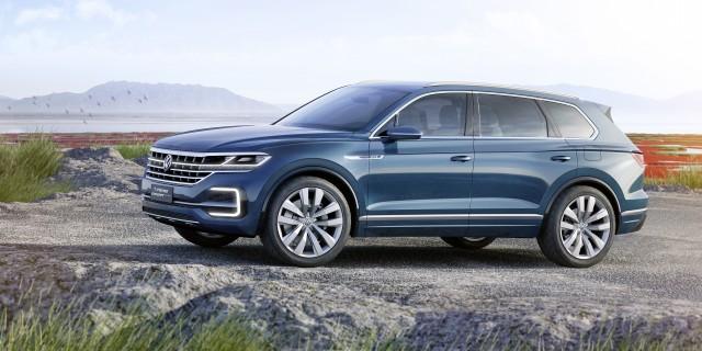 Volkswagen Touareg Polo Leaked