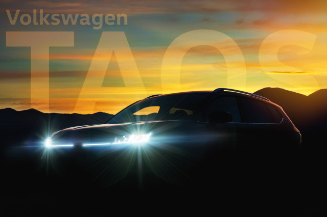 Volkswagen Taos enters as small crossover SUV