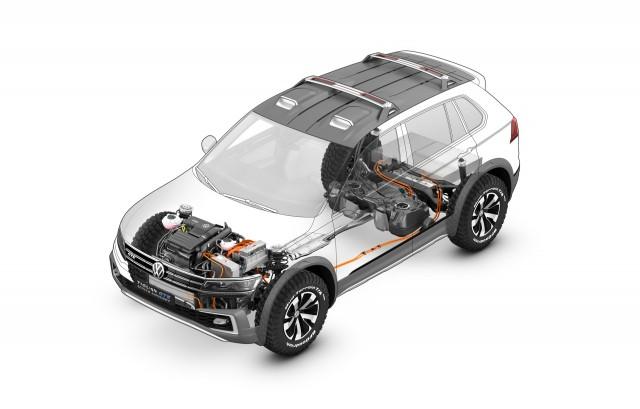Volkswagen Tiguan GTE concept - 2016 Detroit Auto Show