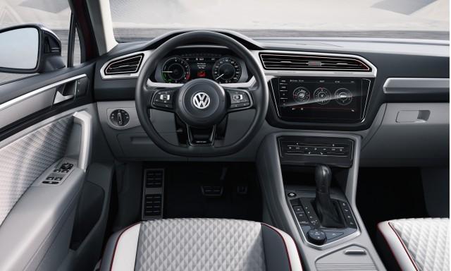 Volkswagen Tiguan Gte Concept 2016 Detroit Auto Show