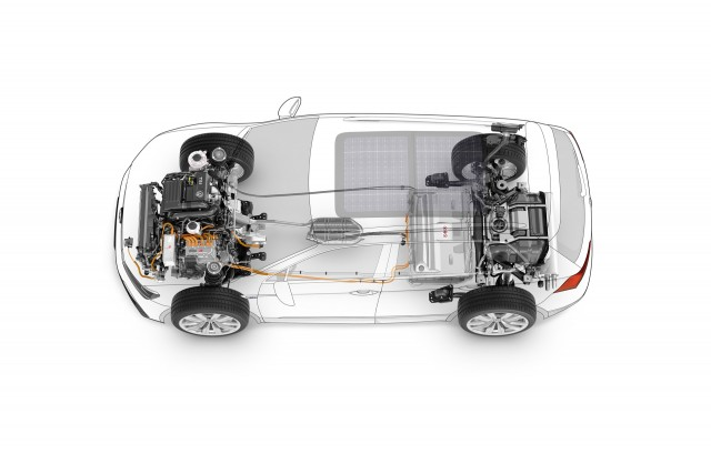 Volkswagen Tiguan GTE concept, 2015 Frankfurt Auto Show