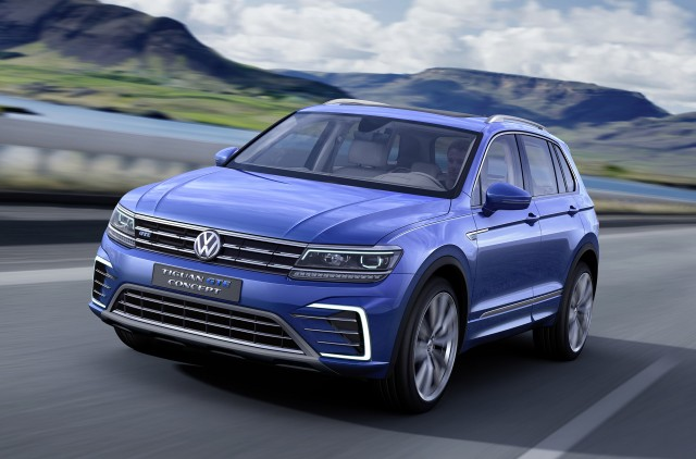 2017 Volkswagen Tiguan Compact Crossover Revealed At Frankfurt Auto
