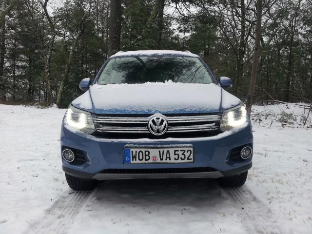 Volkswagen Tiguan TDI (European model), Catskill Mountains, NY, Dec 2013