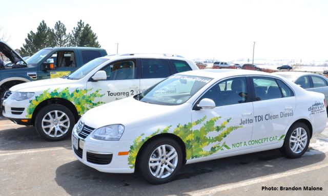The new Touareg 2-- to be release in May 2009 to dealers, among the other hybrids, clean diesels and E-85 vehicles at the Loveland Green Car Convoy event.