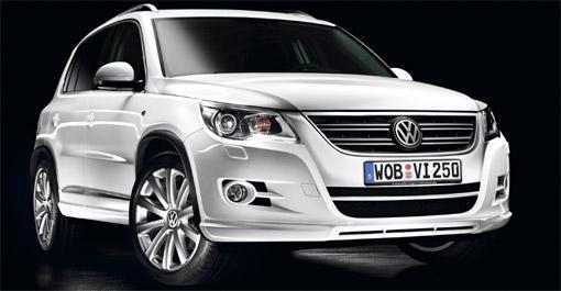 Volkswagen unveils Tiguan R-Line SUV