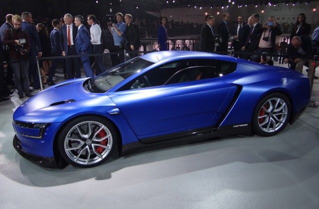 Volkswagen Xl Sport With Ducati V Twin Engine Paris Motor Show Photos