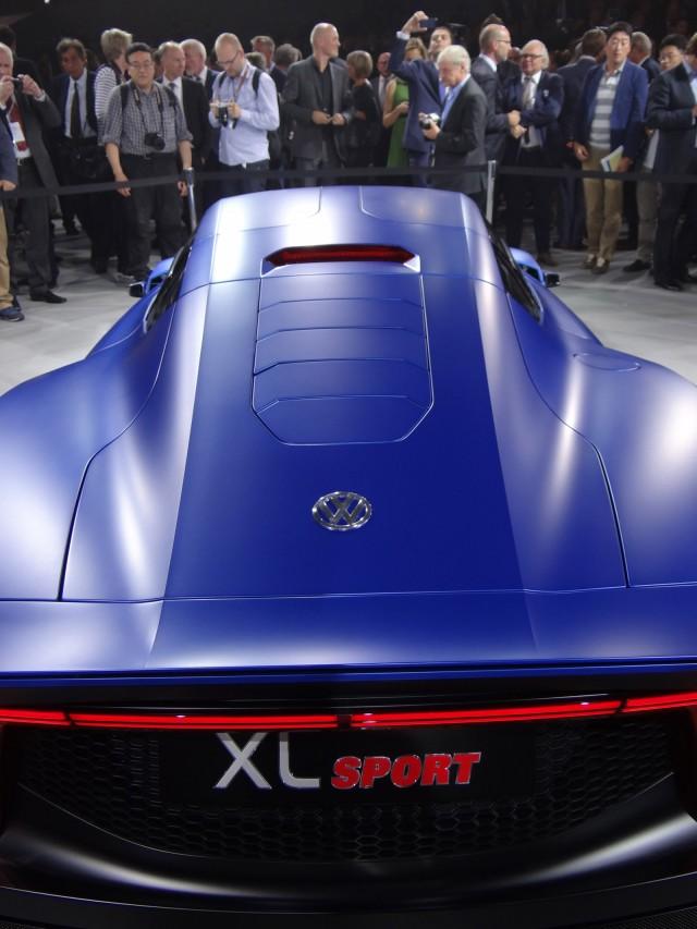 volkswagen xl sport  paris motor show  details video