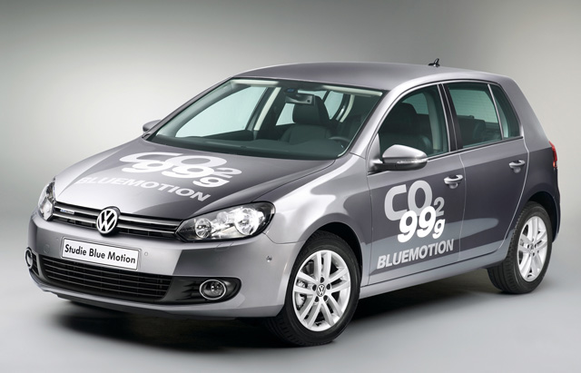 VW Golf BlueMotion Concept Gets 62 mpg